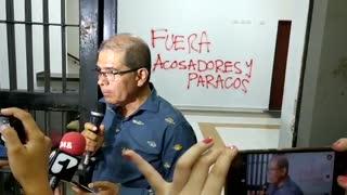 Tensión en la UIS tras plantón contra presuntos docentes acosadores