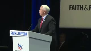 Mike Pence Heckled With Calls of 'Traitor'