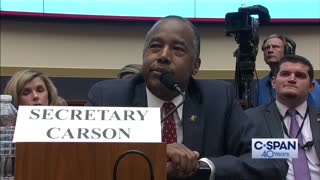 Sparks fly during Ben Carson testimony on taking public housing away from illegal immigrants