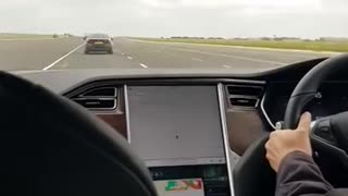 Tesla crashes