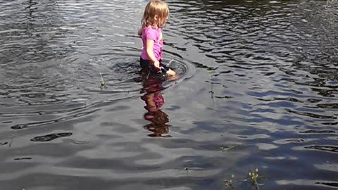 Flooded fun