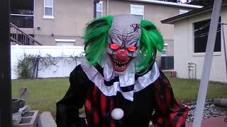 The Creepy Carnival: Creepy Crouching Clown