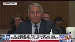 Paul Rand on fauci funding gain of function research