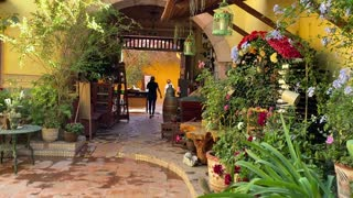 Beautiful tour of Hotel and Restaurant