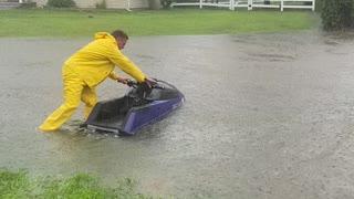 Having Fun During a Hurricane