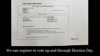 Detroit Leaks Vote Fraud Scheme to Steal Michigan