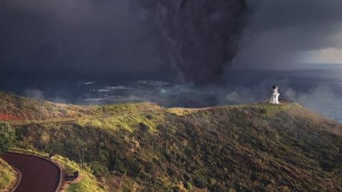 Tornado Formation on the Coast