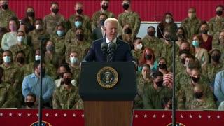 Joe Biden forgetting he's President