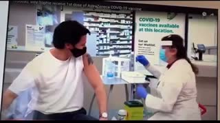 Trudeau Fake Injection