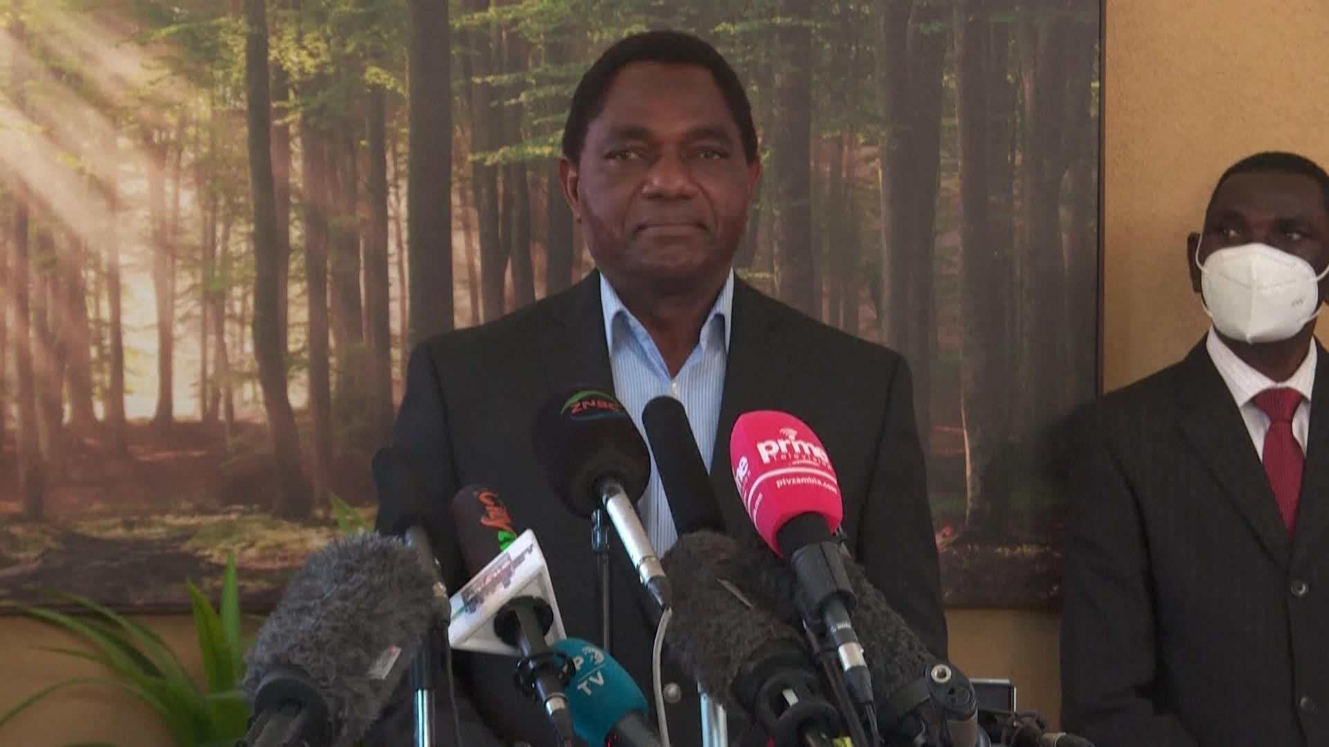 Zambia swears in 'cattle boy' millionaire as new president