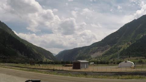 Cloud time lapse taken in the mountains of Silverton, Colorado