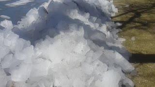 Frozen Lake Spills Over