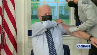 President Biden receives Pfizer COVID-19 booster shot