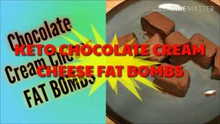 Keto Recipes - Chocolate Cream Cheese Bombs