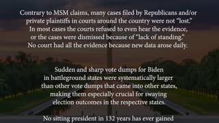 Unmasked election fraud