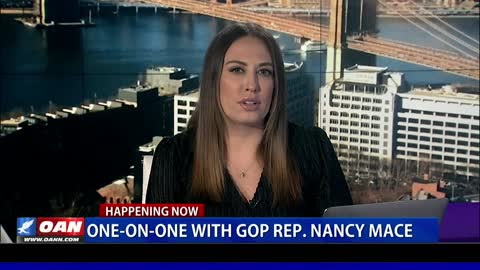 One-on-one with GOP Rep. Nancy Mace Pt. 1
