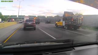 Auto Accident North Bound 355