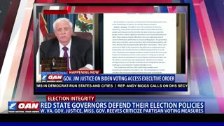 Red state governors defend their election policies