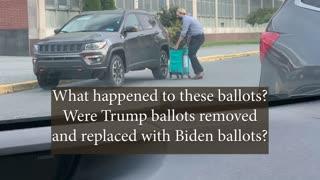 Philadelphia Ballot box removed from voting location
