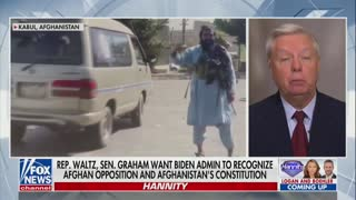 Lindsey Graham Shouts BS To Biden