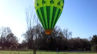 First April 2021 flight in Time Lapse
