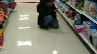 Getting scared at Target