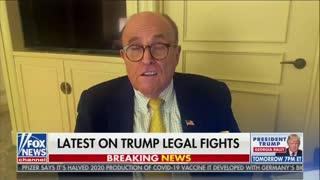 Giuliani: 'We Don't Need Courts'
