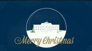 Merry Christmas Trump White House 2020