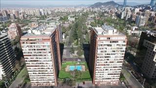 Las condes city in Chile