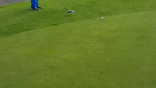 Golf swing by Golf Pro