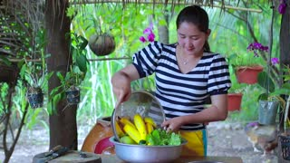 Yellow Gourd Cooking Recipe - Cooking With Sros