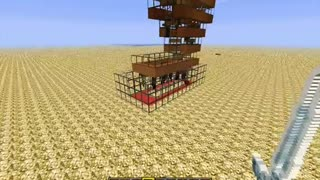 Minecraft: Venus Sky Trap - Form and function in harmony.