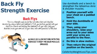 Back Fly Strength Exercise