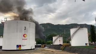 Video: Momentos de pánico en Chimitá tras explosión