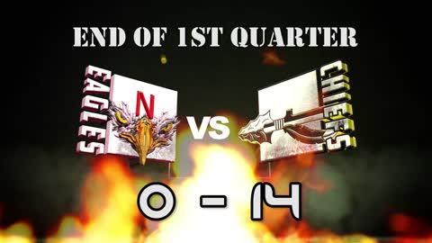 Week 5, Red Division Kickapoo Chiefs vs Nixa Eagles