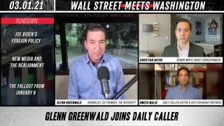 Glenn Greenwald Calls Tucker Carlson A Socialist