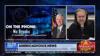 Mo Brooks Joins War Room After President Trump's Endorsement