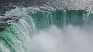 The largest amazing waterfall