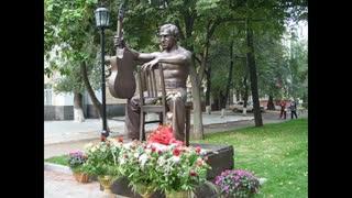 """Высоцкий: """"Я при жизни был рослым..""""- 3-Памятник-Стих. (R)."""