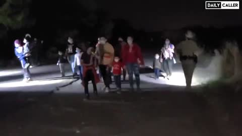 CNN Will Never Show You This: Illegal Immigrants Thank Joe Biden as They Cross the Border