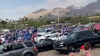 Final Tucson Trump Parade