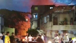 Incendio sector Girardot, Bucaramanga