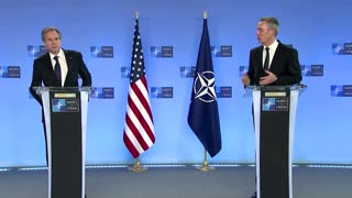 We want 'to rebuild': Blinken on first NATO trip