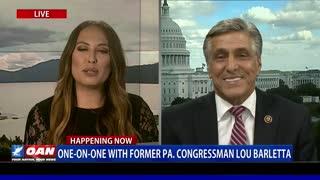 One-on-One with former Pa. congressman Lou Barletta