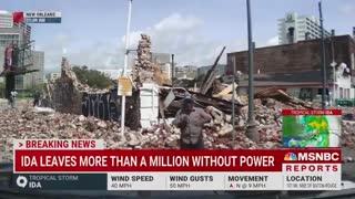 "MSNBC forecaster blames ""climate change"" for Hurricane Ida."