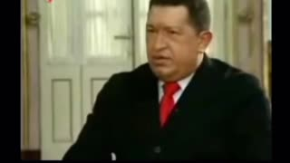 Hugo Chavez claims world leaders are not Human