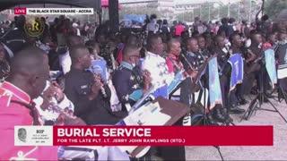 State funeral of Jerry John Rawlings, former president of Ghana