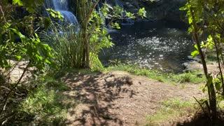 Incredible peaceful waterfall in New Zealand