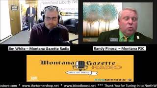 Montana Public Service Commissioner Randy Pinocci