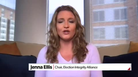 Jenna Ellis NAILS IT - time to decertify the 2020 election.